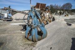 Δραστηριότητα στο λιμάνι Bakke (τσίμπημα πετρών) Στοκ Φωτογραφίες