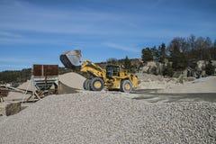 Δραστηριότητα στο λιμάνι Bakke Στοκ εικόνα με δικαίωμα ελεύθερης χρήσης