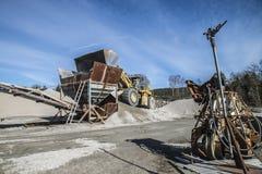 Δραστηριότητα στο λιμάνι Bakke Στοκ Φωτογραφίες