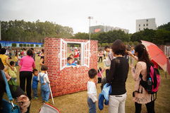 Δραστηριότητες ανοικτής ημέρας αστυνομίας Shenzhen του τοπίου Στοκ φωτογραφίες με δικαίωμα ελεύθερης χρήσης