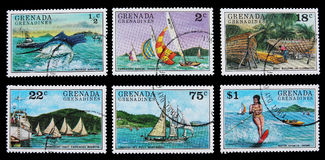 Δραστηριότητες ελεύθερου χρόνου στα νησιά Καραϊβικής Στοκ εικόνες με δικαίωμα ελεύθερης χρήσης