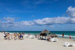 Δραστηριότητες στην παραλία, Κούβα, Varadero Στοκ Εικόνες