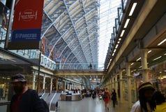 Δραστηριότητες στο ST Pancras, Λονδίνο Στοκ φωτογραφίες με δικαίωμα ελεύθερης χρήσης