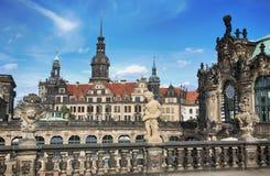 ΔΡΕΣΔΗ, ΓΕΡΜΑΝΙΑ †«στις 13 Αυγούστου 2016: Dresdner Zwinger, που επανοικοδομείται Στοκ Εικόνες