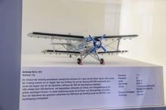 ΔΡΕΣΔΗ, ΓΕΡΜΑΝΙΑ - MAI 2015: αεροσκάφη Antonov ένας-2 195 επιβατών Στοκ Εικόνα