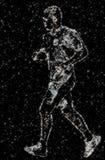 δρομέας αστρικός Στοκ εικόνες με δικαίωμα ελεύθερης χρήσης