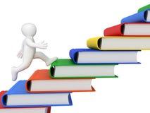 Δρομέας και βιβλία Στοκ εικόνα με δικαίωμα ελεύθερης χρήσης