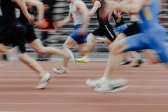 δρομείς sprinters ατόμων ποδιών στοκ φωτογραφίες
