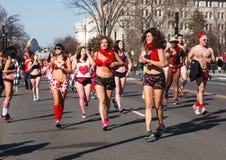 Δρομείς Washington DC Undie Cupids Στοκ φωτογραφία με δικαίωμα ελεύθερης χρήσης