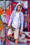 δροσερά μπροστινά γκράφιτ&iot Στοκ Φωτογραφίες