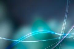 Δροσερή μπλε αυγή Στοκ Φωτογραφίες