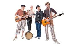 Δροσεροί μουσικοί Στοκ εικόνες με δικαίωμα ελεύθερης χρήσης
