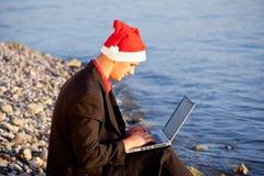 Δροσερός Άγιος Βασίλης Στοκ εικόνα με δικαίωμα ελεύθερης χρήσης