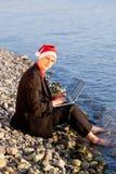 Δροσερός Άγιος Βασίλης Στοκ Φωτογραφίες