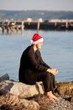 Δροσερός Άγιος Βασίλης Στοκ φωτογραφίες με δικαίωμα ελεύθερης χρήσης
