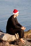 Δροσερός Άγιος Βασίλης Στοκ Εικόνες