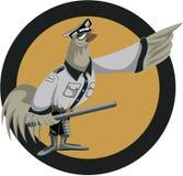 δροσερός αστυνομικός διανυσματική απεικόνιση