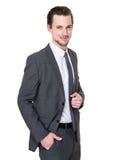 Δροσερός νέος επιχειρηματίας πορτρέτου Στοκ φωτογραφία με δικαίωμα ελεύθερης χρήσης