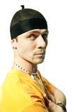 Δροσερός νεαρός άνδρας χιπ-χοπ Στοκ Φωτογραφία