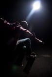 δροσερός τύπος skateboarder Στοκ Εικόνες