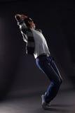Δροσερός χορευτής ατόμων Στοκ φωτογραφίες με δικαίωμα ελεύθερης χρήσης