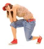 δροσερός χορευτής Στοκ φωτογραφία με δικαίωμα ελεύθερης χρήσης