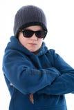 Δροσερό αγόρι Στοκ Φωτογραφίες