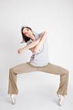 δροσερό θηλυκό χορευτών  Στοκ Εικόνες