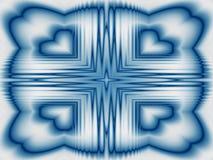 Δροσερό καλειδοσκόπιο πάγου απεικόνιση αποθεμάτων