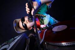 Δροσερό κατσίκι DJ Στοκ Φωτογραφίες