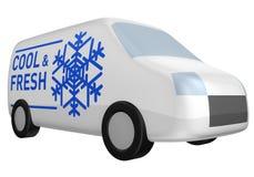 δροσερό φρέσκο φορτηγό πα&r Στοκ φωτογραφίες με δικαίωμα ελεύθερης χρήσης