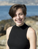 Δροσερό 15χρονο έφηβη headshot Στοκ Εικόνες