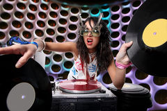 δροσερό DJ Στοκ Εικόνες