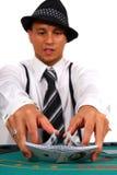 δροσερό dude πόκερ Στοκ φωτογραφία με δικαίωμα ελεύθερης χρήσης