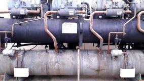 Δροσισμένο το νερό ψυγείο είναι ένας δροσισμένος νερό συμπυκνωτής τύπων Στοκ εικόνες με δικαίωμα ελεύθερης χρήσης