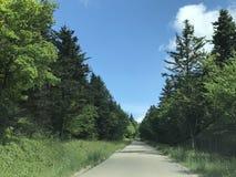 Δρόμοι βουνών Στοκ Φωτογραφία
