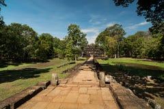Δρόμοι ναών, Angkor Wat στην Καμπότζη Στοκ Εικόνες