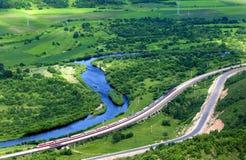δρόμοι ποταμών που τρέχουν στοκ φωτογραφίες με δικαίωμα ελεύθερης χρήσης