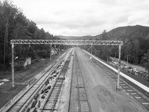 Δρόμοι σιδήρου Στοκ εικόνα με δικαίωμα ελεύθερης χρήσης