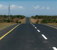 δρόμοι της Αφρικής Στοκ Εικόνες