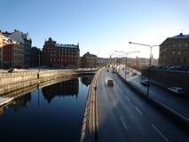 Δρόμοι το πρωί Στοκ φωτογραφία με δικαίωμα ελεύθερης χρήσης