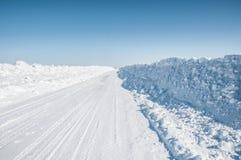Ήταν ένας σκληρός χειμώνας Στοκ Εικόνες