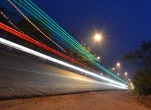 Δρόμος λέιζερ ταχύτητας Στοκ εικόνα με δικαίωμα ελεύθερης χρήσης