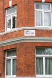 Δρόμος αβαείων, Λονδίνο, UK στοκ εικόνα με δικαίωμα ελεύθερης χρήσης