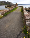 δρόμος αγροτική Σκωτία στοκ εικόνες