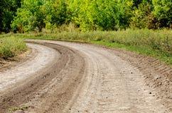 δρόμος αγροτικός Στοκ εικόνα με δικαίωμα ελεύθερης χρήσης