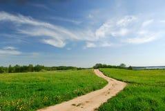 δρόμος αγροτικός Στοκ φωτογραφία με δικαίωμα ελεύθερης χρήσης