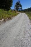 δρόμος αμμοχάλικου Στοκ εικόνα με δικαίωμα ελεύθερης χρήσης