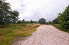 δρόμος αμμώδης Στοκ εικόνα με δικαίωμα ελεύθερης χρήσης