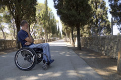 Δρόμος αναπηρικών καρεκλών στοκ εικόνα